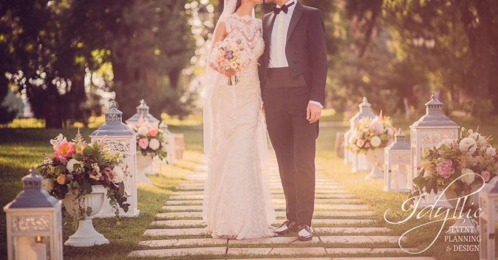 nunta design Palatul Mogosoaia