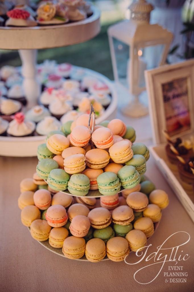 Macarons Candy Bar Idyllic
