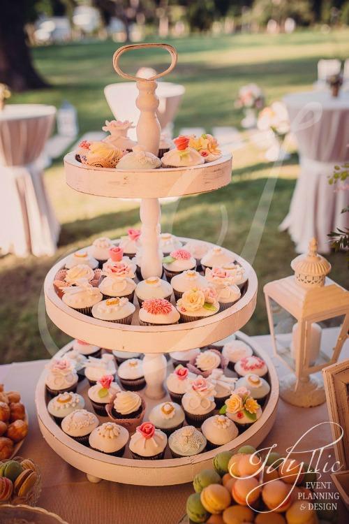 candy bar - cupcakes nunta