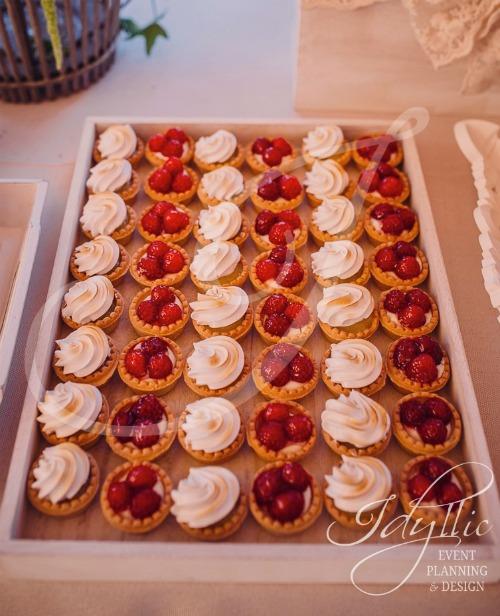 Mini tarte Candy Bar Idyllic