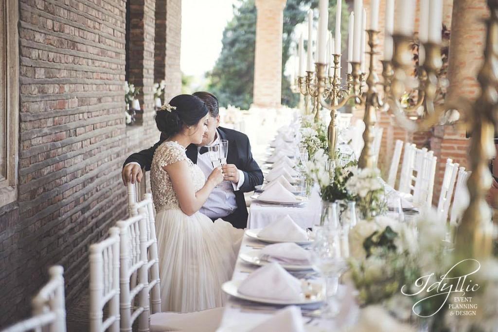 organizare si design nunta Palatul Mogosoaia