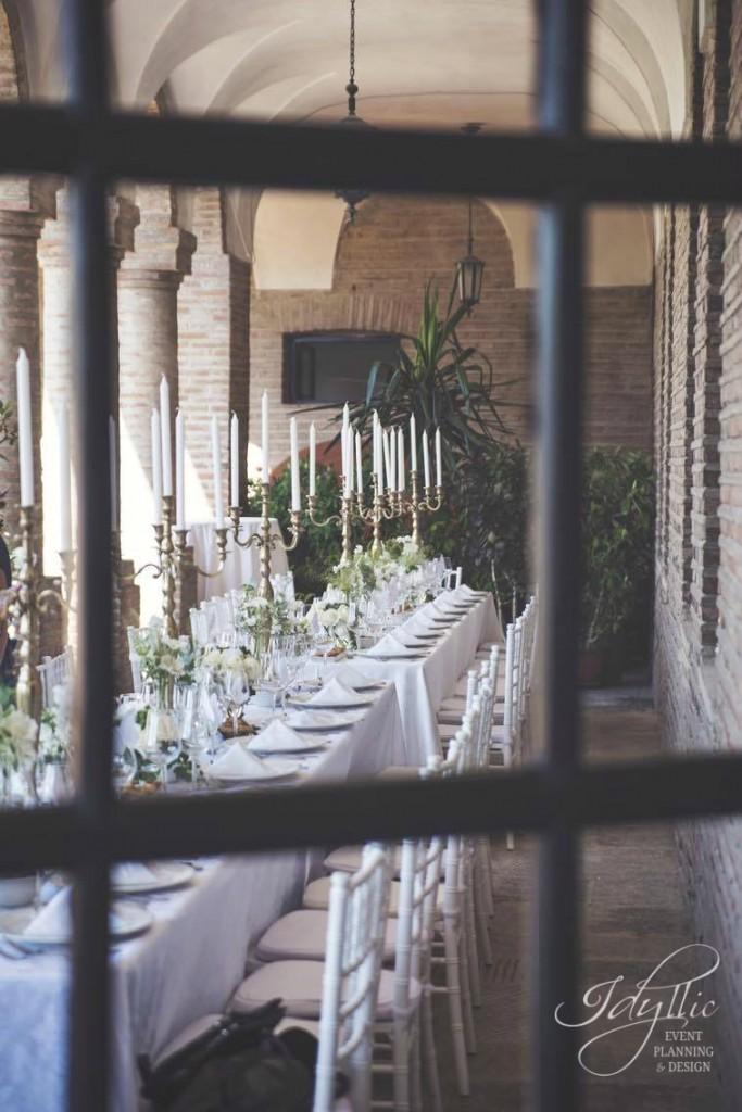 Design sfesnice aurii nunta
