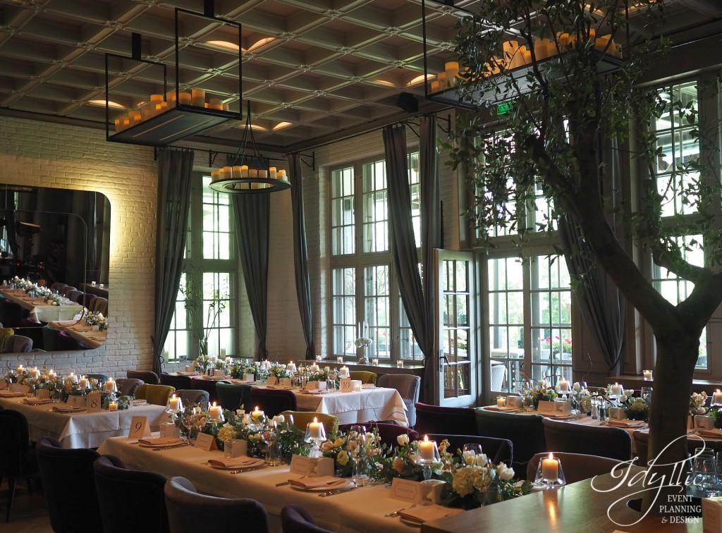 design nunta restaurant Diplomat Herastrau