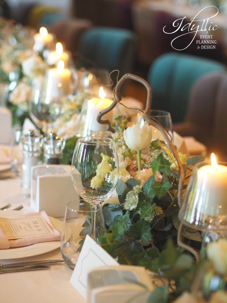 detalii decor nunta by Idyllic la Diplomat Herastrau