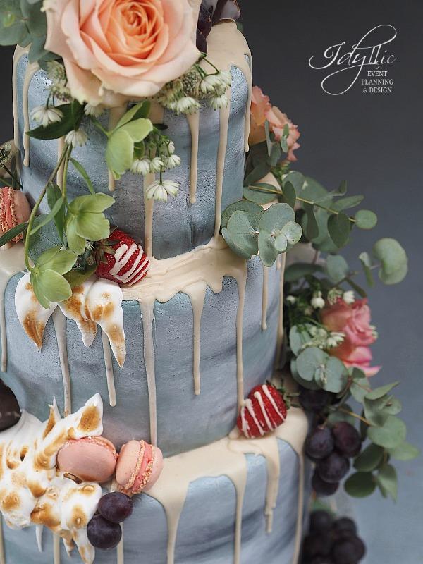 Tort nunta design modern
