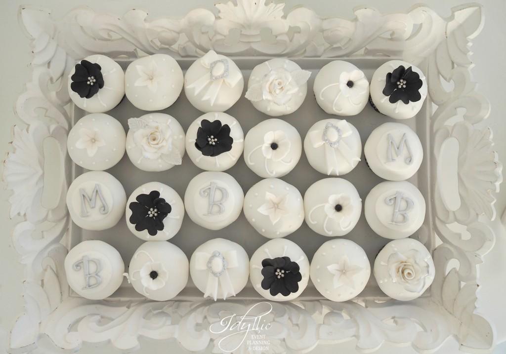 cupcakes candy bar nunta