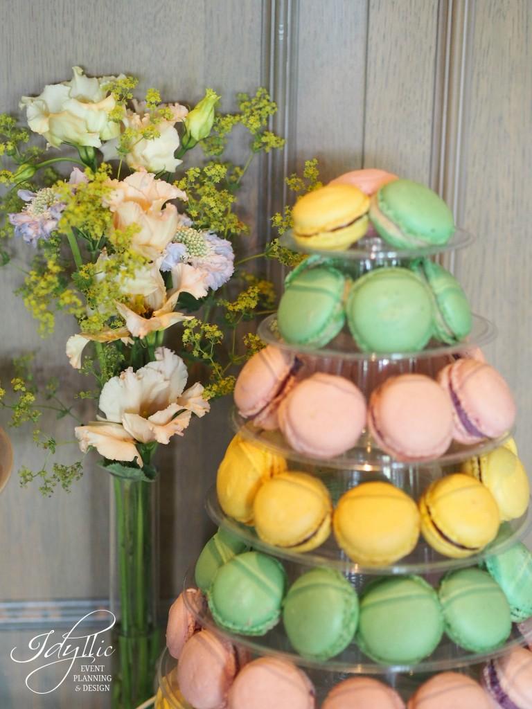 Candy bar idyllic botez