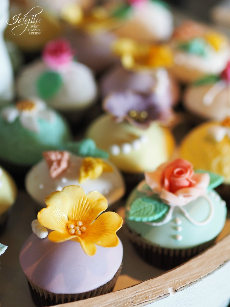 Cupcakes decorate botez