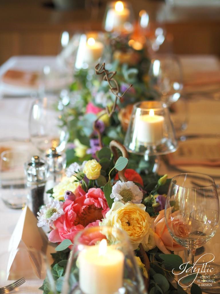 Decor botez by Idyllic Events restaurant Diplomat