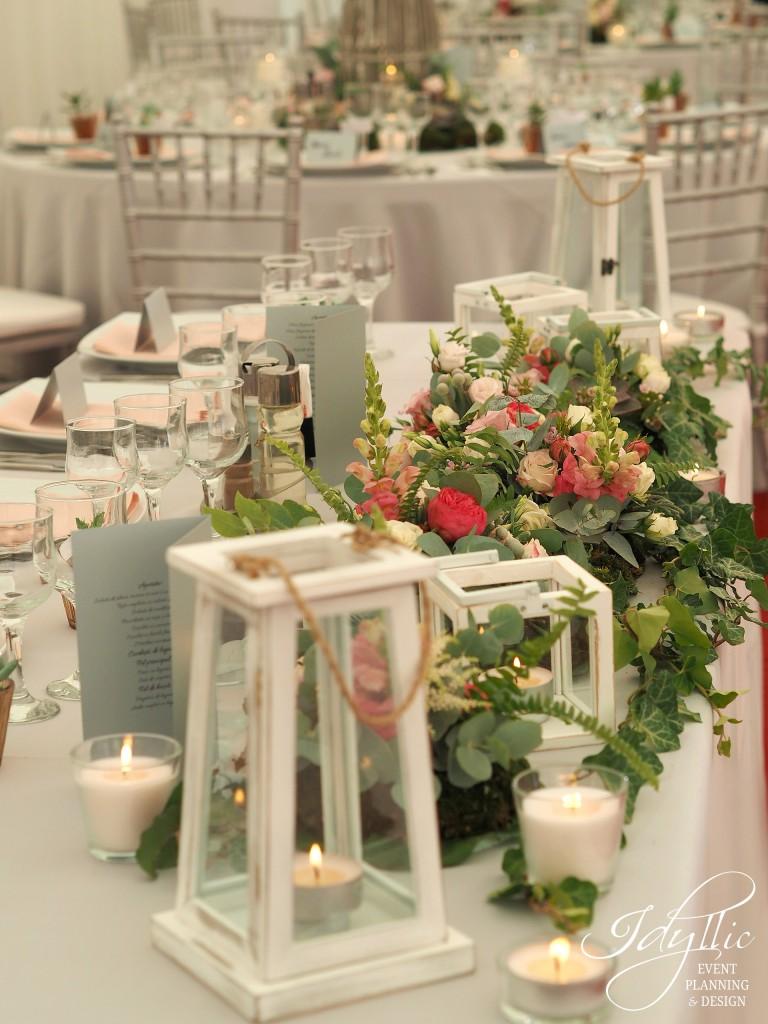 Decor prezidiu nunta
