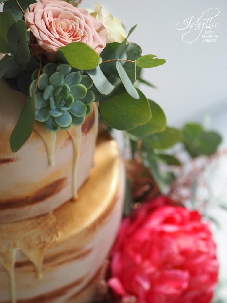 Detalii tort nunta idyllic events