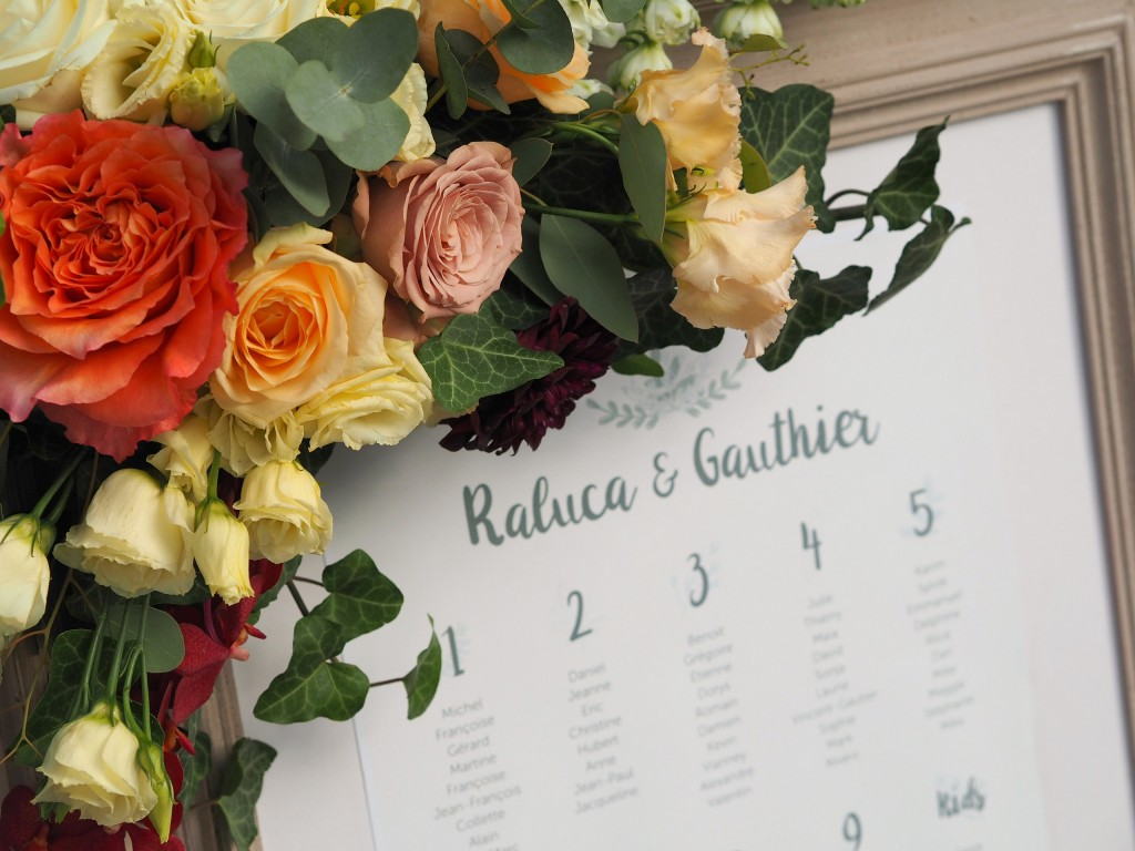 Opis intrare nunta decorat cu flori