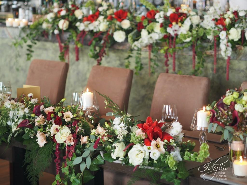 Aranjamente florale nunta designer Idyllic Events