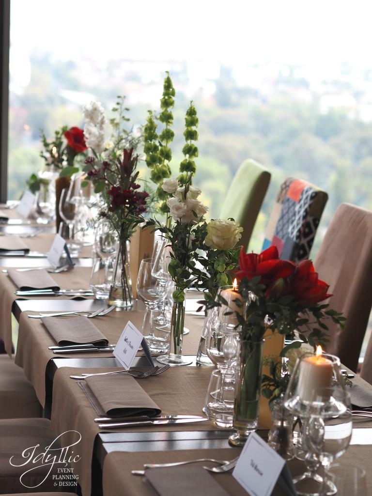 Organizare si design nunta by Idyllic la 18 Lounge