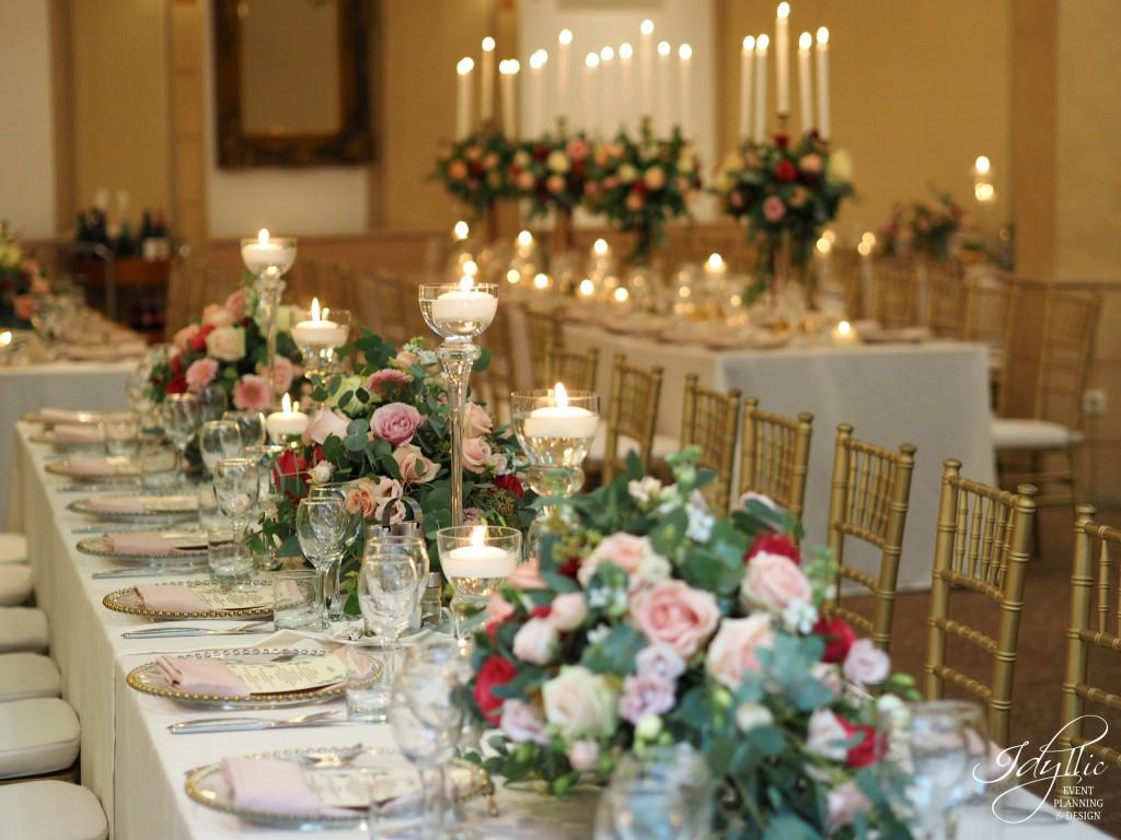 Aranjamente florale si decor nunta