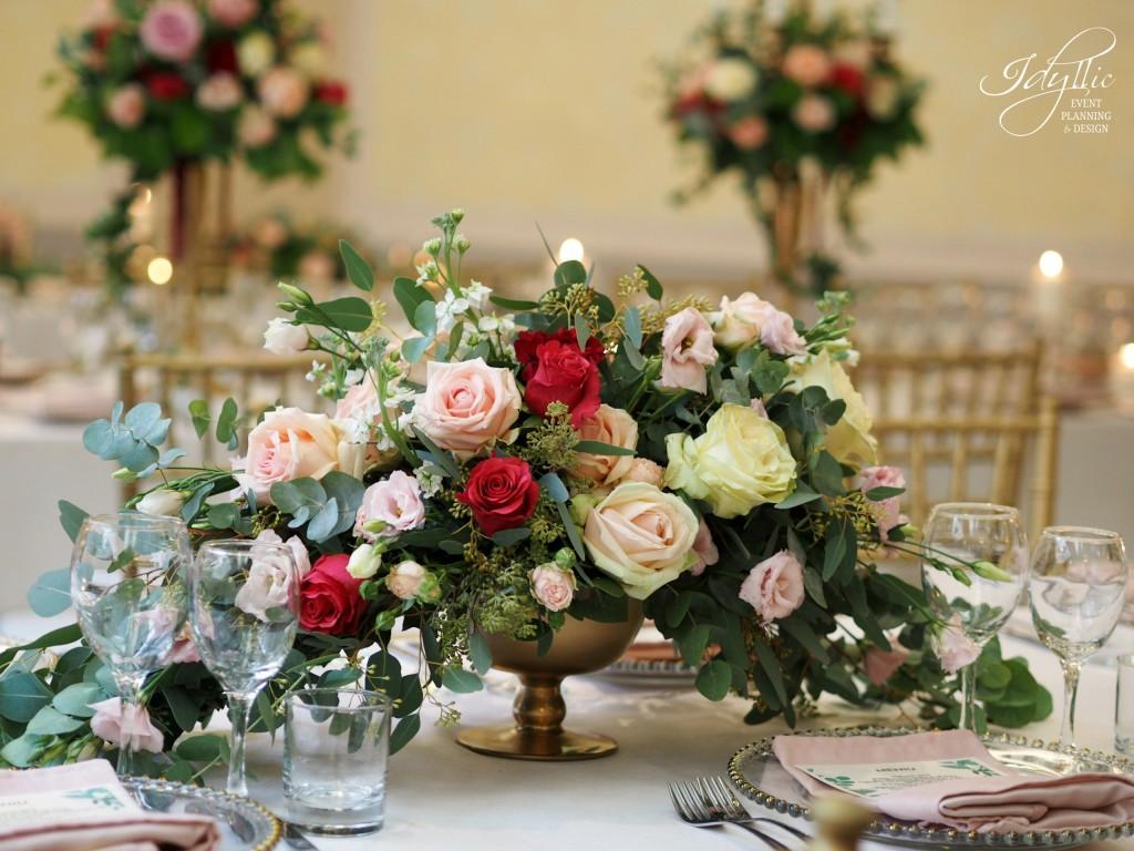 Aranjamente florale si decor nunta Idyllic