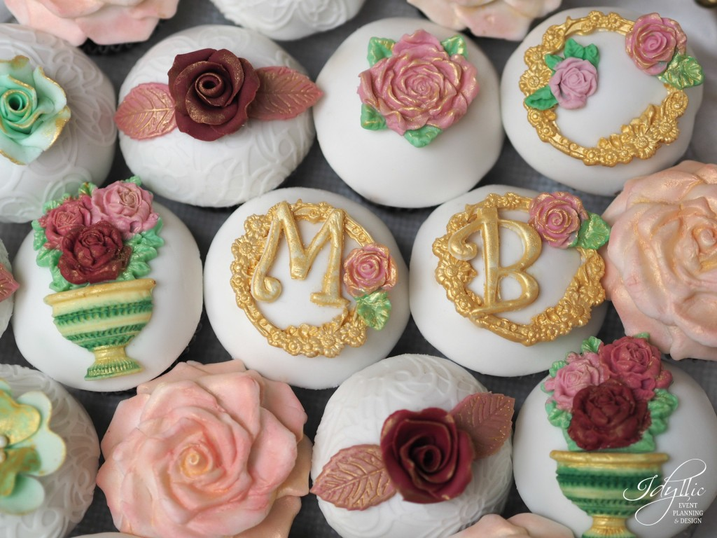 Cupcakes personalizate nunta