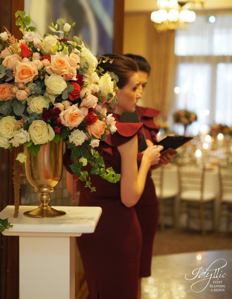 Decor intrare nunta