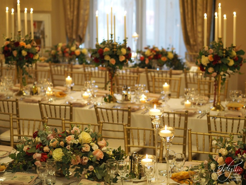 Organizare si design nunta Idyllic