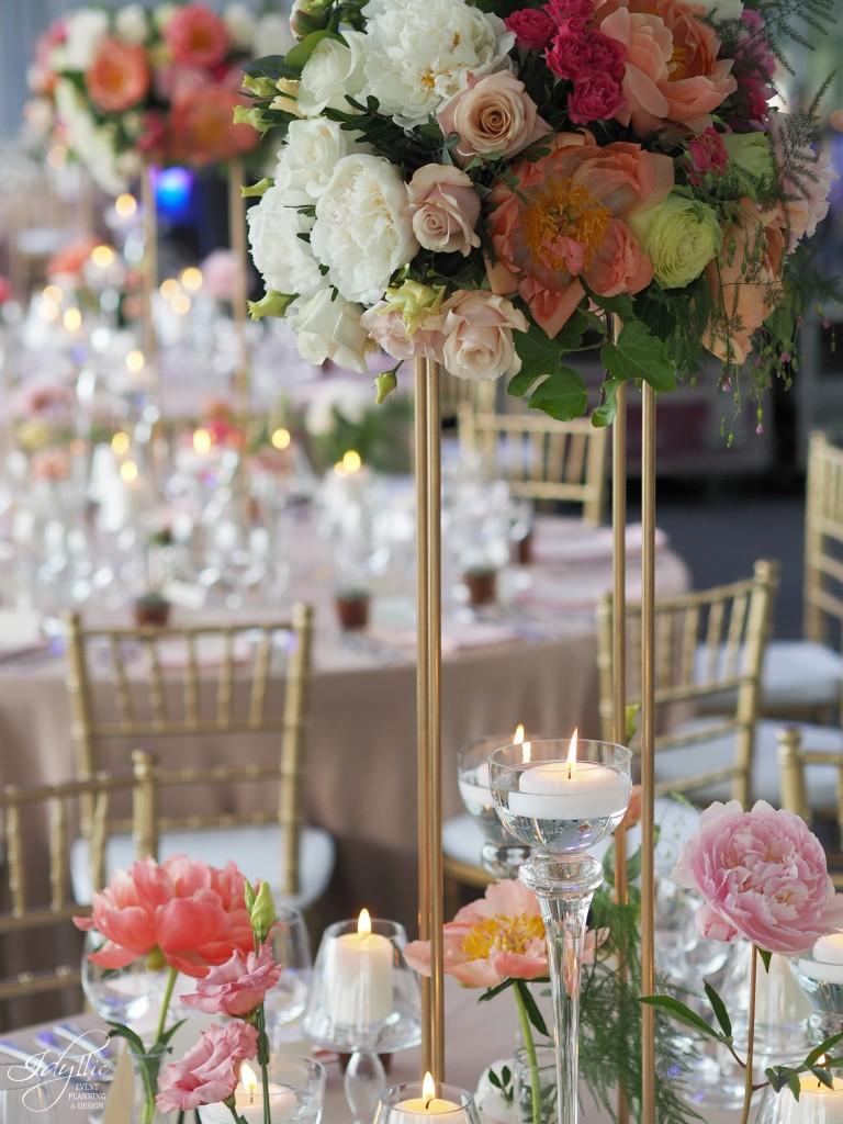 Aranjament floral eveniment idyllic