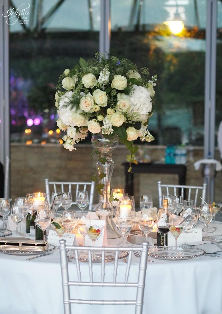 Aranjament floral masa nunta