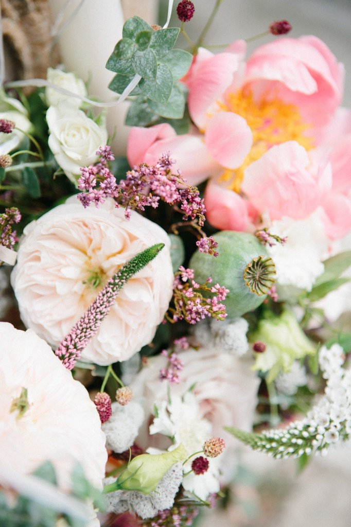 Detalii atanjament floral nunta
