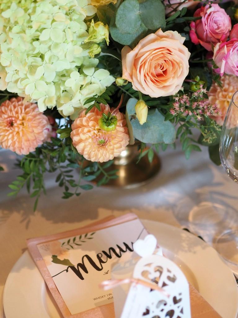 Aranjament floral diplomat