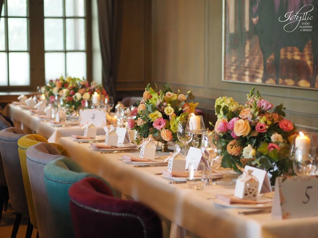 Nunta la restaurant diplomat
