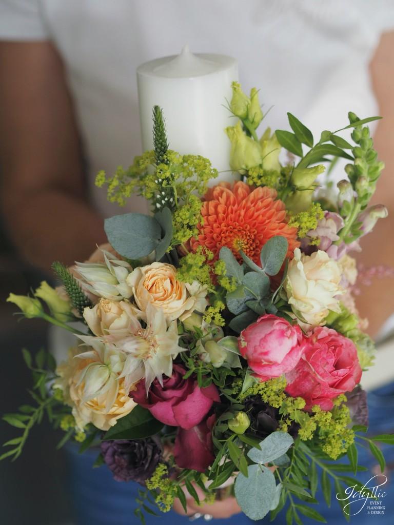 Lumanari nunta Idyllic Events