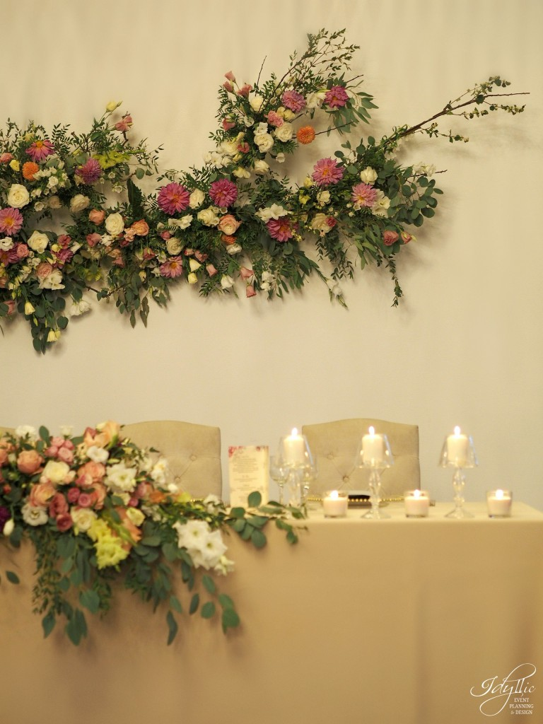 Detalii prezidiu nunta