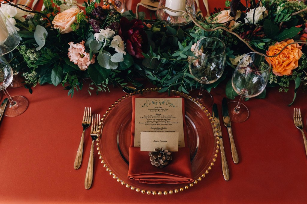 Detalii nunta idyllic