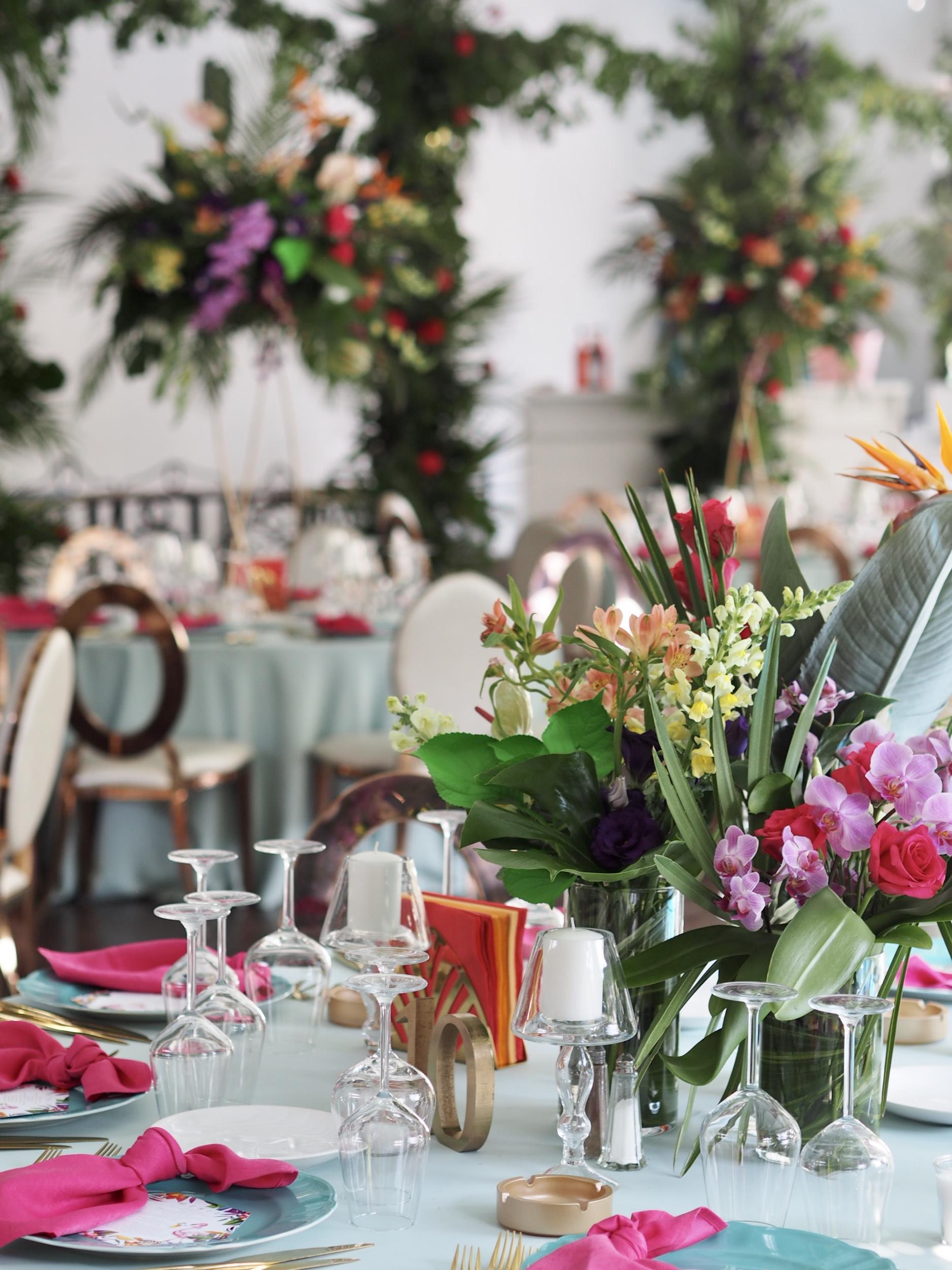 Aranjamente exotice nunta