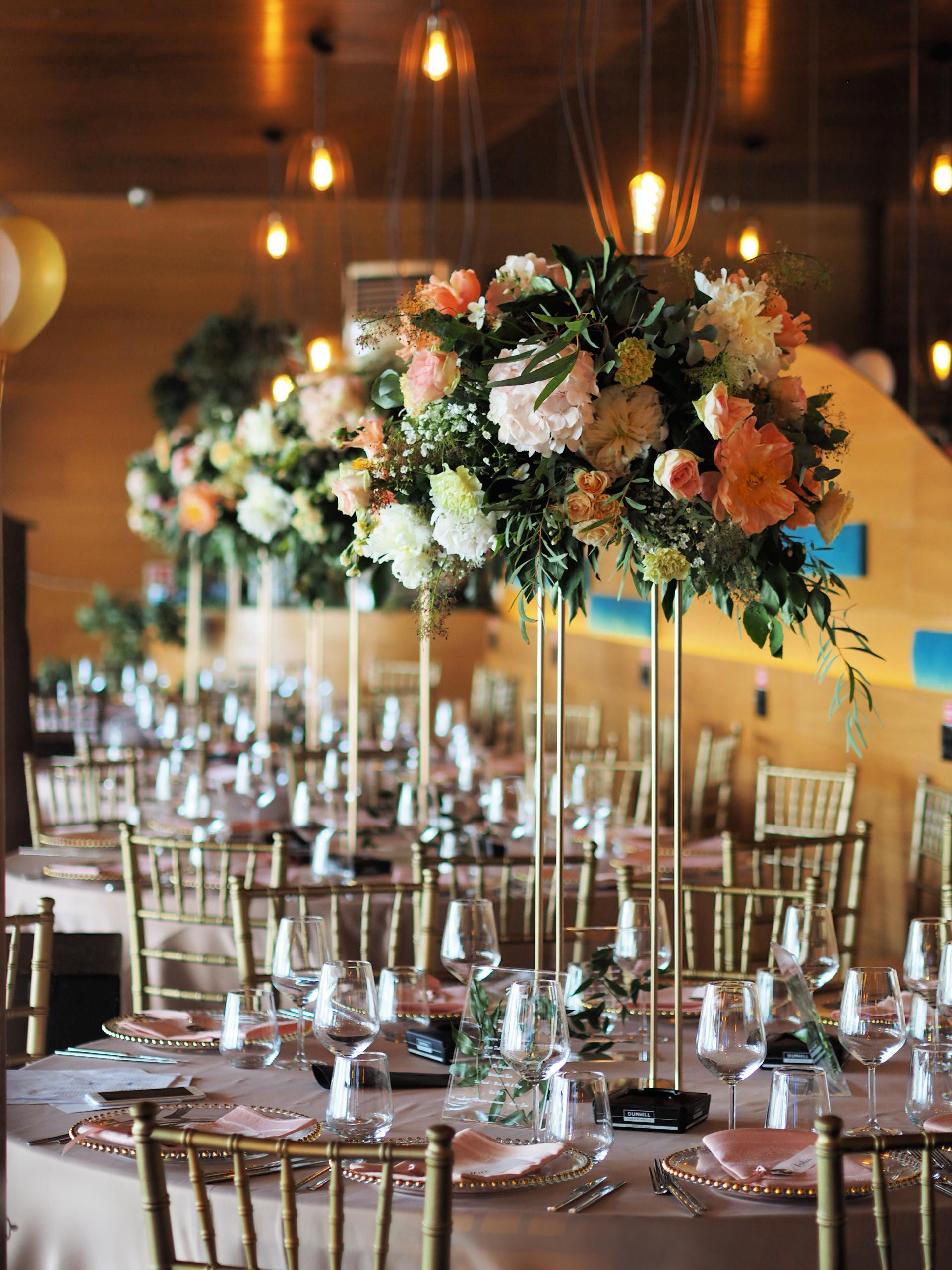 Aranjamente florale eveniment, organizare nunta