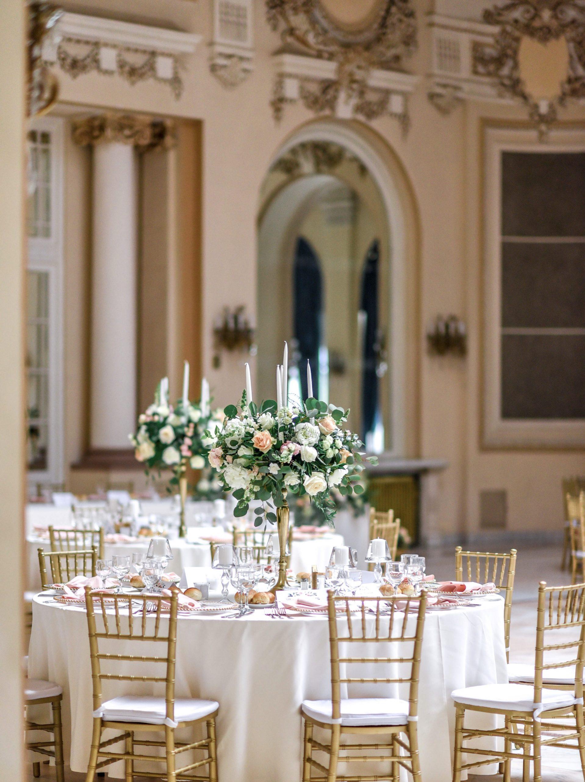 Aranjamente florale nunta IDYLLIC Casino Sinaia
