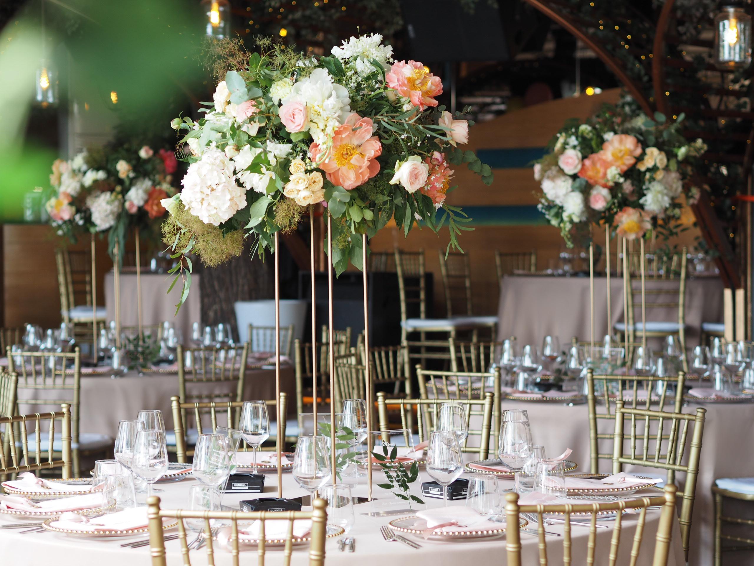 Aranjamente florale nunta Nuba