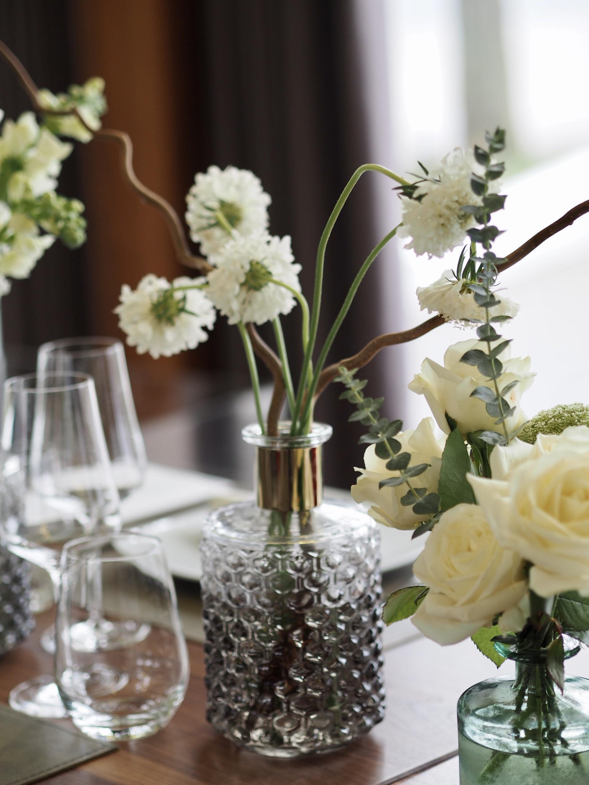 Detalii aranjamente florale Casa di David