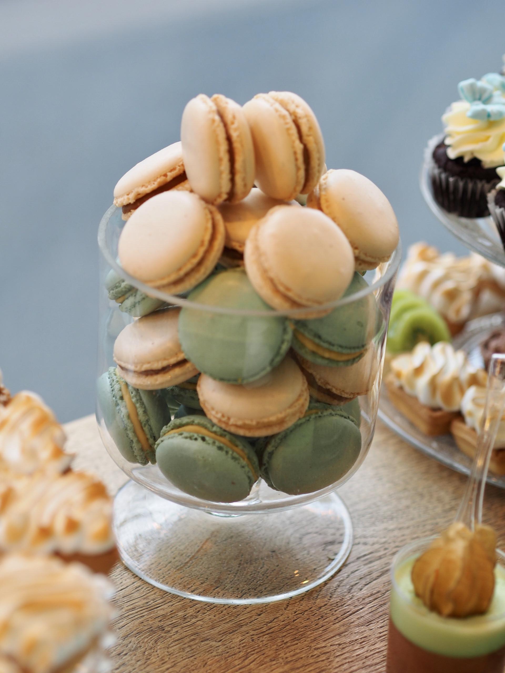 Macarons candy bar botez