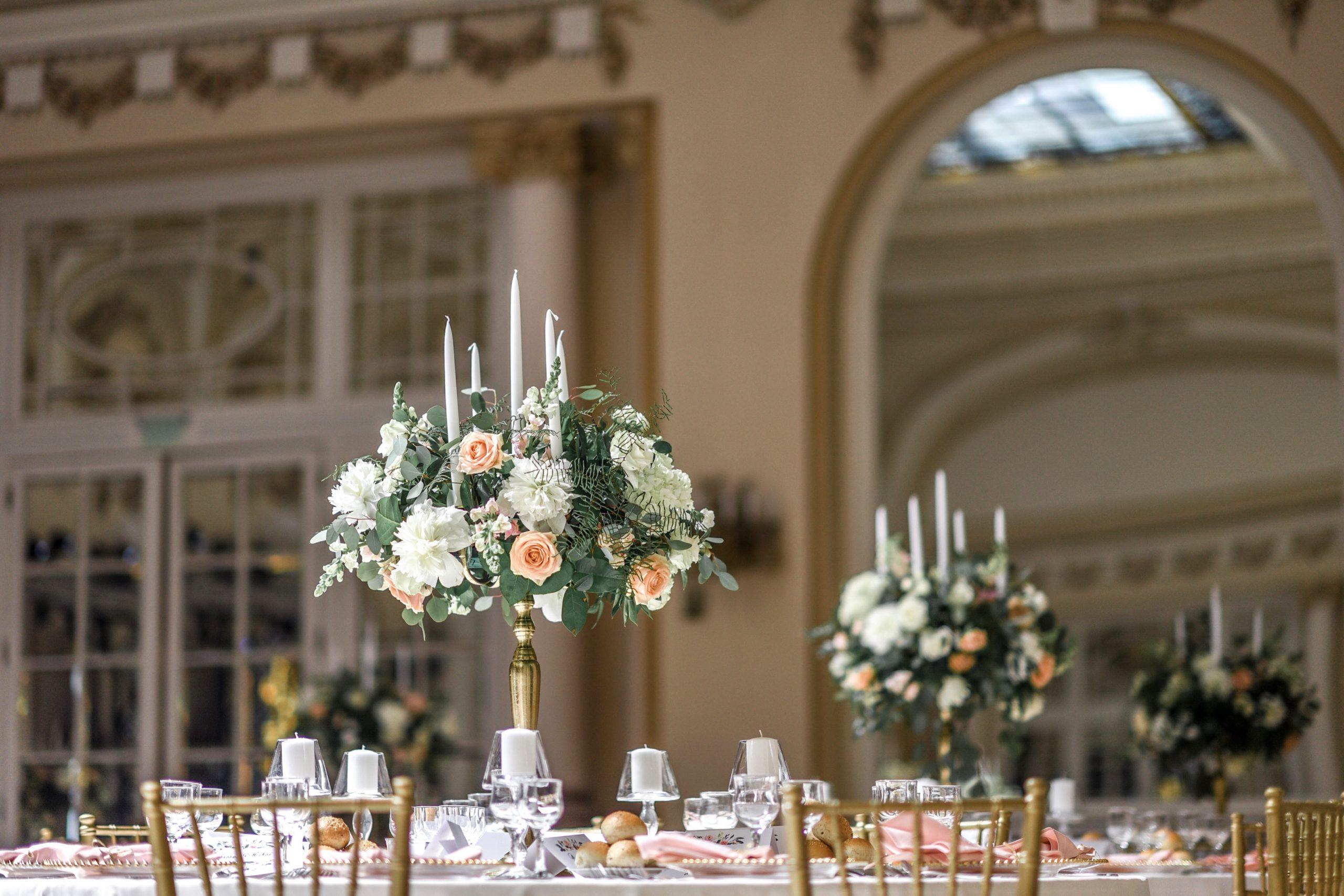 Organizare si design nunta Casino Sinaia