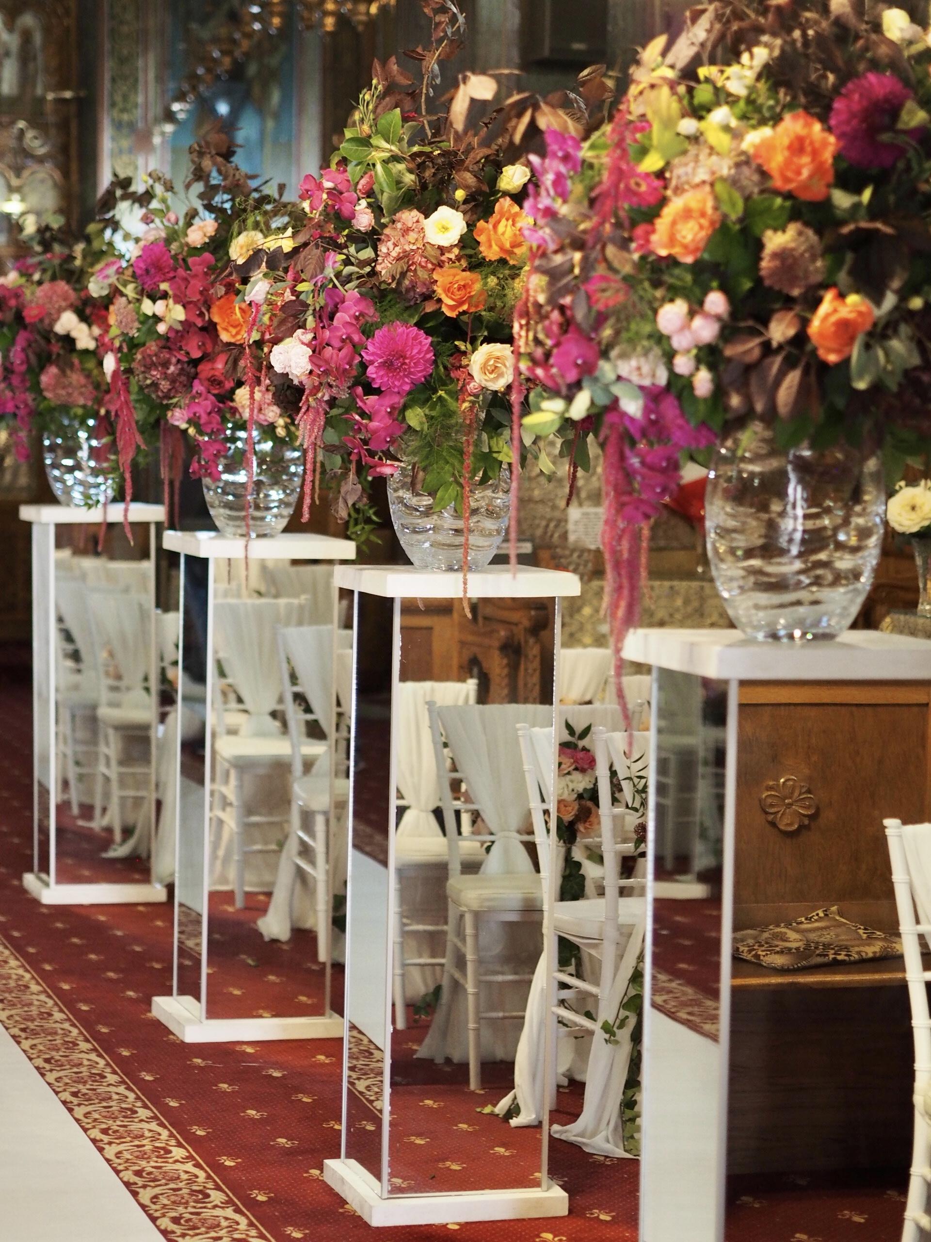 Aranjamente biserica, aranjamente florale nunta