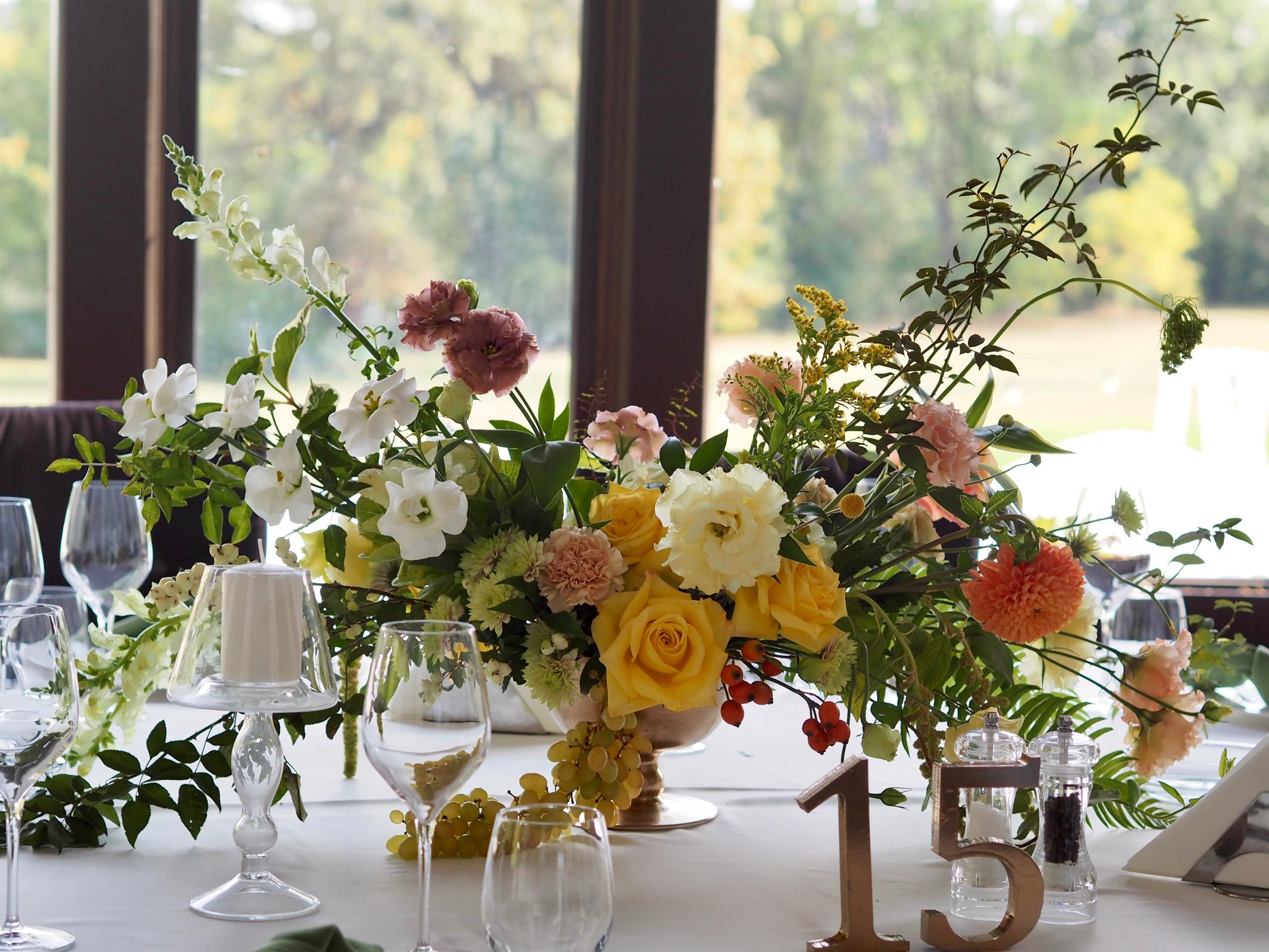 Aranjamente florale botez Diplomat