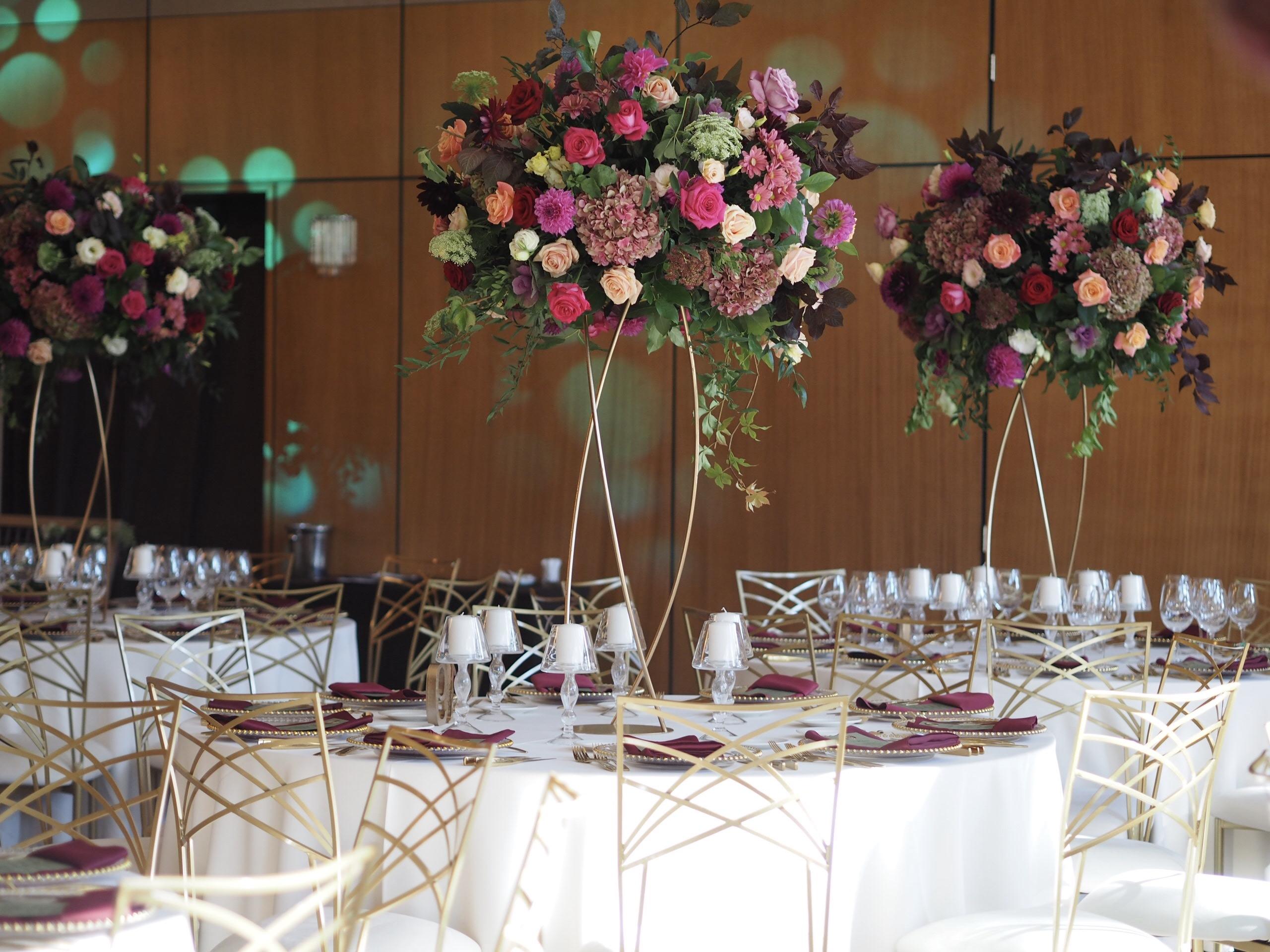 Design floral nunta Crowne Plaza Bucuresti