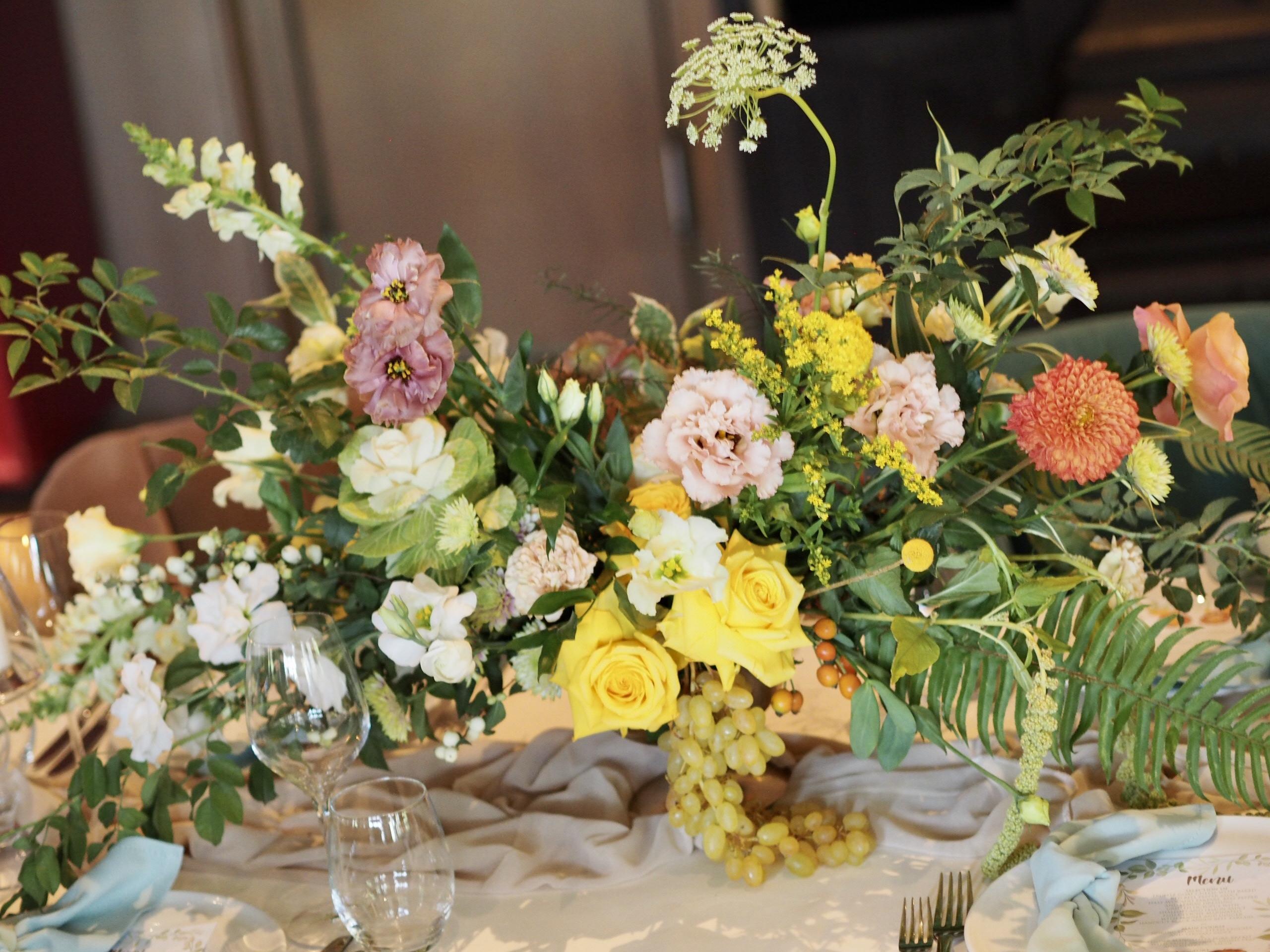 Design floral restaurant Diplomat