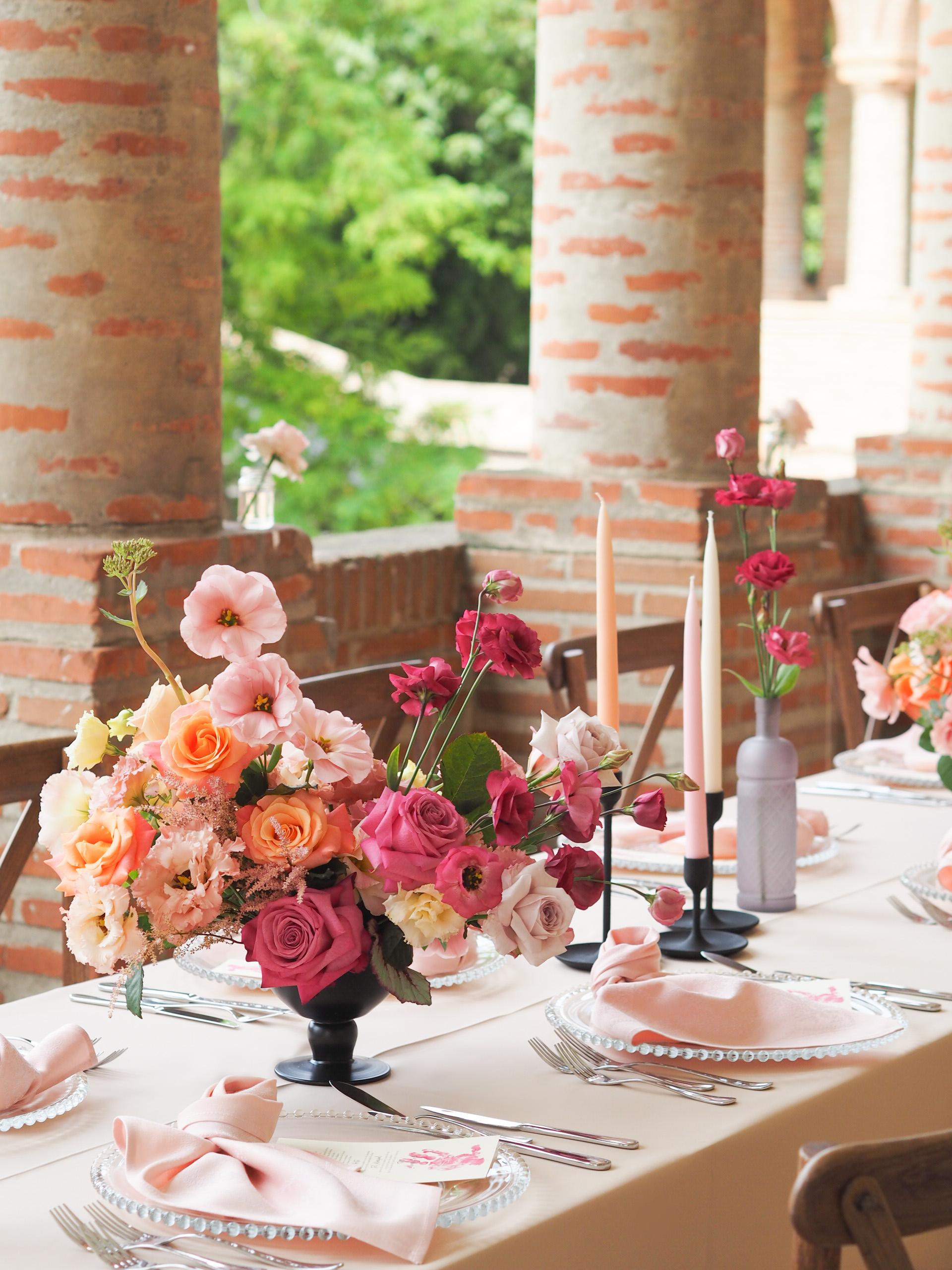 Aranjamente florale botez Palatul Mogosoaia
