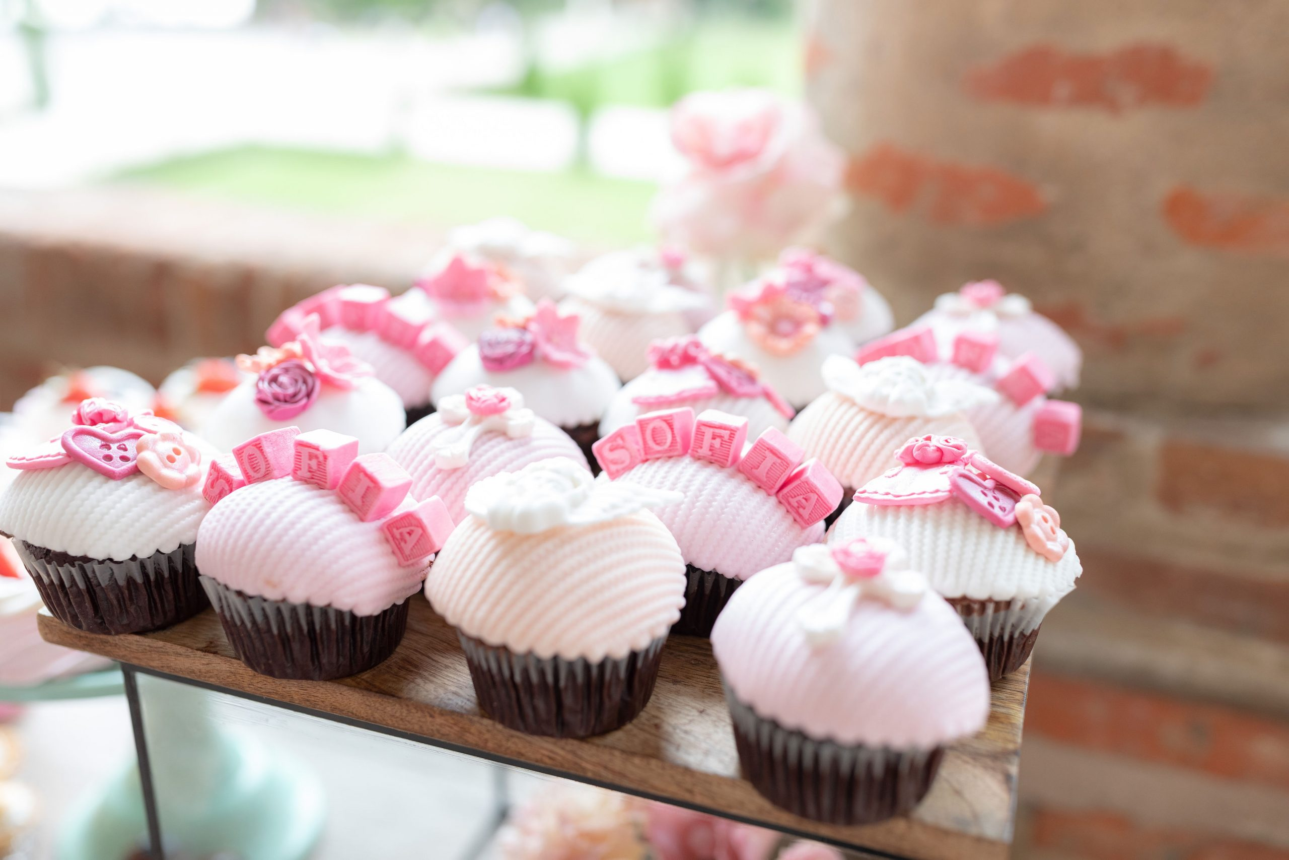 Cupcakes candy bar botez