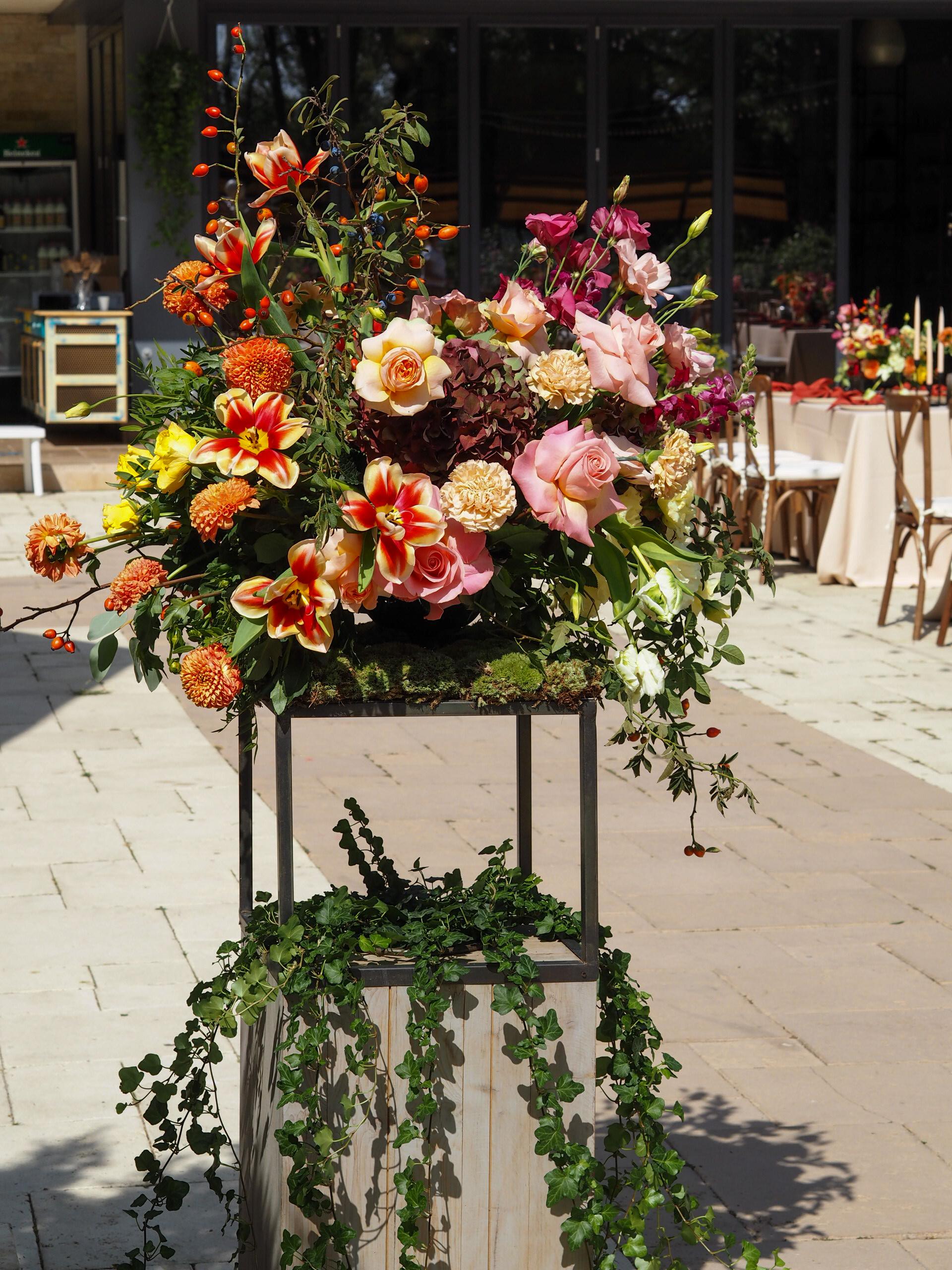 Aranjamente florale intrare