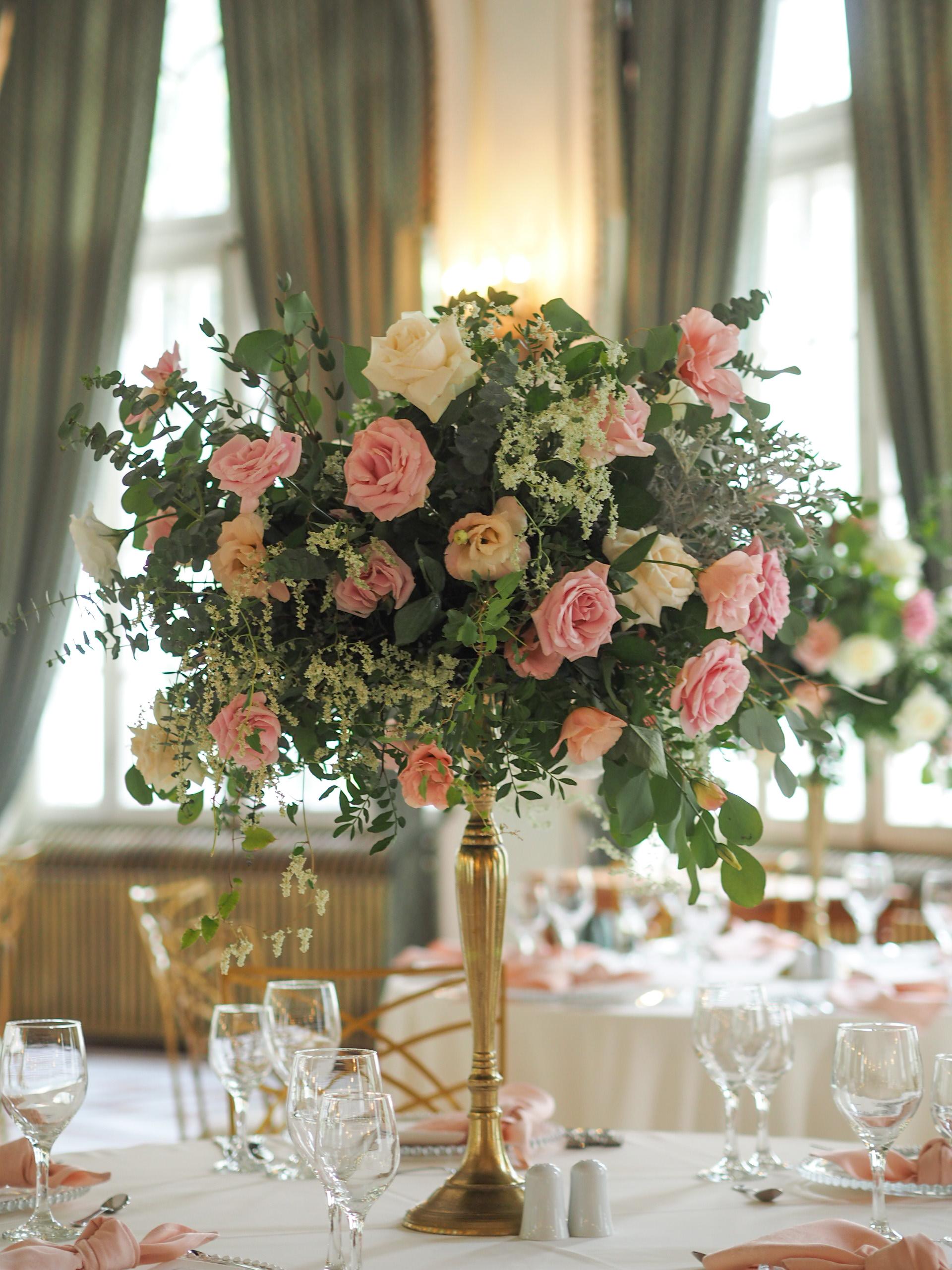 Aranjamente florale nunta Casino Sinaia
